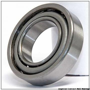 1.575 Inch | 40 Millimeter x 3.15 Inch | 80 Millimeter x 1.189 Inch | 30.2 Millimeter  GENERAL BEARING 55508  Angular Contact Ball Bearings