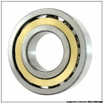 0.787 Inch | 20 Millimeter x 1.85 Inch | 47 Millimeter x 0.811 Inch | 20.6 Millimeter  GENERAL BEARING 55504  Angular Contact Ball Bearings