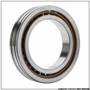 1.969 Inch | 50 Millimeter x 3.543 Inch | 90 Millimeter x 1.189 Inch | 30.2 Millimeter  GENERAL BEARING 455510  Angular Contact Ball Bearings